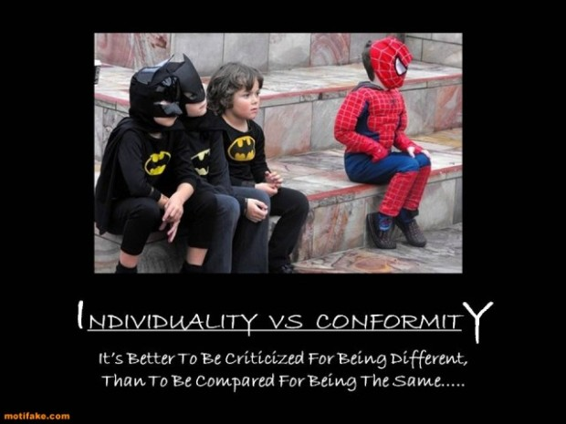 essay on individuality and conformity