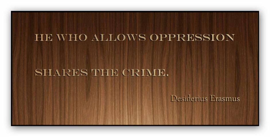 oppression__
